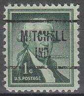 USA Precancel Vorausentwertungen Preos, Locals Indiana, Mitchel 724 - Vorausentwertungen
