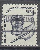 USA Precancel Vorausentwertungen Preos, Locals Indiana, Monticello 841 - Precancels