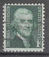 USA Precancel Vorausentwertungen Preos, Locals Indiana, Montmorenci 843 - Vorausentwertungen