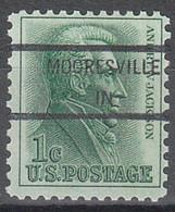 USA Precancel Vorausentwertungen Preos, Locals Indiana, Mooresville 846 - Precancels