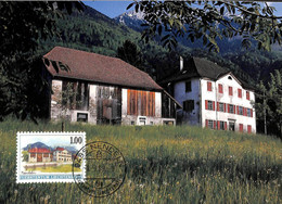 [500302]B/TB//-Liechtenstein 1999 - 9485 NENDELN, Paysages, Montagne, Nature - Cartoline Maximum