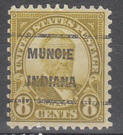 USA Precancel Vorausentwertungen Preos, Locals Indiana, Muncie 640-209 - Precancels