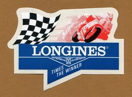 "MOTO COMPETITION : "" LONGINES "" - Autocollants"