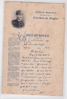 Affaire Dreyfus L'Ecriture Dépôt De Saint-Martin-de-Ré Prison Bagne Forçat Politique Antisémitisme Juifs Judaïca - Jewish