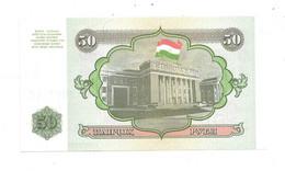 *tajikistan 50 Rubles 1994  5  Unc - Tajikistan