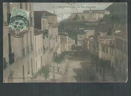 Algérie. Philippeville. La Rue D'Austerlitz - Andere Steden
