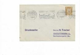Ganzsachenbrief Aus Regensburg 1926 - Cartas