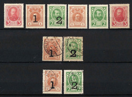 ⭐ Russie - YT N° 129 à 136 * - Neuf Avec Charnière Et Oblitéré - 1917 ⭐ - Nuevos