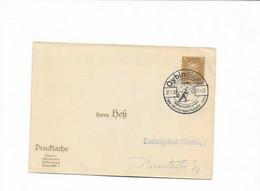 Ganzsachenkarte Aus Oybin 1930 - Cartas