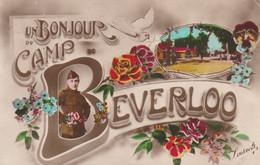CAMP DE BEVERLOO - Un Bonjour - Patriotic