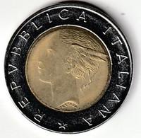 Moneta Da  500 LIRE DEL 1993 - 500 Lire