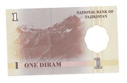 *tajikistan 1 Dirham  1999  10  Unc - Tajikistan