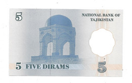 *tajikistan 5 Dirhams  1999  11  Unc - Tajikistan