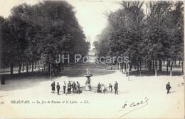 Beauvais - Le Jeu De Paume Et Le Lycee - Old Postcard - 1904 - France - Used - Beauvais