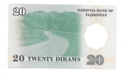 *tajikistan 20 Dirhams  1999  12  Unc - Tajikistan