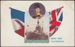 Admiral Jellicoe - Send Him Victorious, C.1915 - Postcard - Patriotic