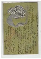 ILLUSTRATEUR KIRCHNER #16965 GAUFREE ARGENT SUR FOND VERT - Kirchner, Raphael