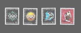 Suisse Série Complète JO 48 ** - Inverno1948: St-Moritz