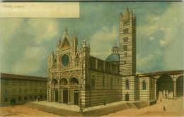 SIENA - IL DUOMO - FIRMATA ANICHINI - EDIZIONE GIUSTI - 1910s  (BG7994) - Siena
