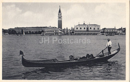 Venezia - Vendig - Venice - Panorama E Gondola - Old Postcard - Italy - Unused - Venetië (Venice)