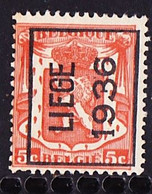 Luik 1936  Typo Nr. 311A - Typo Precancels 1936-51 (Small Seal Of The State)