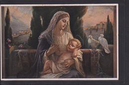 B34 /   Kunstkarte M.H / Maria U. Jesus Kind , Madonna - Paintings, Stained Glasses & Statues