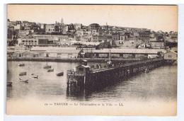 MAROC - TANGER - Le Débarcadère Et La Ville - Tanger
