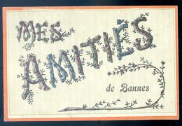 Cpa Du 51 Mes Amitiés De Bannes   SPT21-13 - Altri Comuni