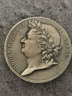 RARE Médaille Constitution Essai à L'Effigie De Mirabeau HONORE RIQUETTI Lyon 21,2 G 34 Mm - Royal / Of Nobility