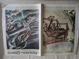 # DOMENICA DEL CORRIERE N 1 -1957 TRAGEDIA SULL'OCEANO / PRESSO CIRIE' TORINO / PUBBLICITA VARIE - Prime Edizioni