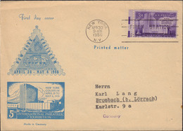 Ref. 452126 * NEW *  - UNITED STATES . 1956. 5 INTERNATIONAL PHILATELIC EXHIBITION OF NEW YORK. 5 EXPOSICION FILATELICA - Unused Stamps