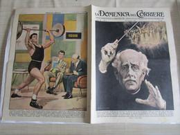 # DOMENICA DEL CORRIERE N 4 -1957 E' MORTO TOSCANINI /  IN TV TELEMATCH  / PUBBLICITA VARIE - Prime Edizioni