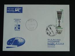 Lettre Premier Vol First Flight Cover Tel Aviv --> Wien 1966 El Al Israel Airlines Ref 99715 - Briefe U. Dokumente