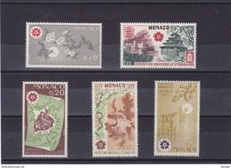 MONACO 1970 EXPOSITION D'OSAKA Yvert 822-826 NEUF** MNH - Neufs