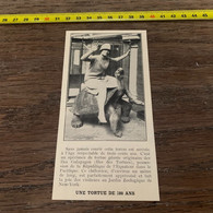 1929 PATI1 Sur Le Dos D Une Tortue De 300 Ans Zoo De New York - Unclassified