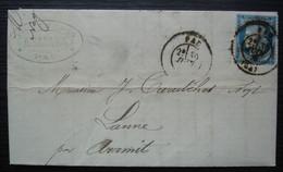 Pau 1876 R. Dabadie Vins En Gros, Vins & Spiritueux Lettre Pour Curutchet Négociant à Lanne Par Aramits - 1849-1876: Periodo Clásico