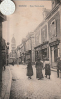 53 - Très Belle Carte Postale Ancienne De  Ernée   Rue Nationale - Ernee