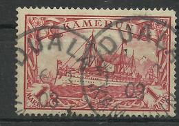 Deutsche Kolonien Kamerun 16 Gest. Duala, Geprüft Jäschke-Lantelme - Colonia: Camerún