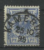 Deutsche Kolonien Kamerun V 48 D Gest. Kamerun, Geprüft Jäschke-Lantelme - Colony: Cameroun