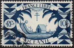 Océanie Obl. N° 156 - Série De Londres  - Le 10c Bleu-gris - Used Stamps