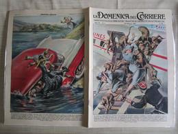 # DOMENICA DEL CORRIERE N 8 -1957 ULTIME SUI DISCHI VOLANTI / PUBBLICITA VARIE - Prime Edizioni