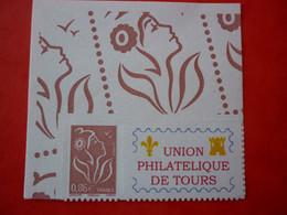 FRANCE MARIANNE LAMOUCHE  N° 3969A  ADHESIF UNION PHILATELIQUE DE TOURS  NEUF SANS CHARNIERE - Personalized Stamps