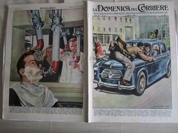# DOMENICA DEL CORRIERE N 13 -1957 SALVA LA PROPRIA AUTO DA LADRO  / SILVANA MANGANO IN THAILANDIA / OMEGA - Prime Edizioni