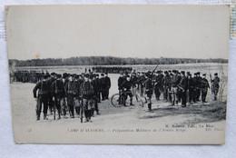 5526/CAMP D'AUVOURS-Préparation Militaire De L'Armée Belge  1916 Envoi Malvern Welles(England) - Autres Communes