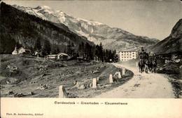 Zwitserland - Schweiz - Suisse - Claridenstock - Urnerboden - Klausenstrasse - 1910 - Unclassified