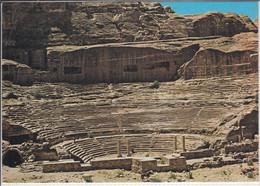 PETRA, Jordan - Amphitheatre,  Nice Stamp - Jordan