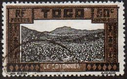 Togo Obl. N° Taxe 13 - Cotonnier - Le 50c Sépia - Usati