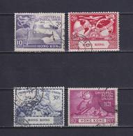 HONG KONG 1949, SG# 173-176, UPU, Used - Used Stamps