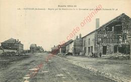 08.  FLEVILLE .  Repris Par Les Américains Le 11 Novembre 1918 . Route Nationale 46 . - Altri Comuni