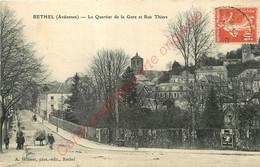 08.  RETHEL .  Le Quartier De La Gare Et Rue Thiers . - Rethel